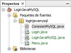 cómo hacer un login en Java