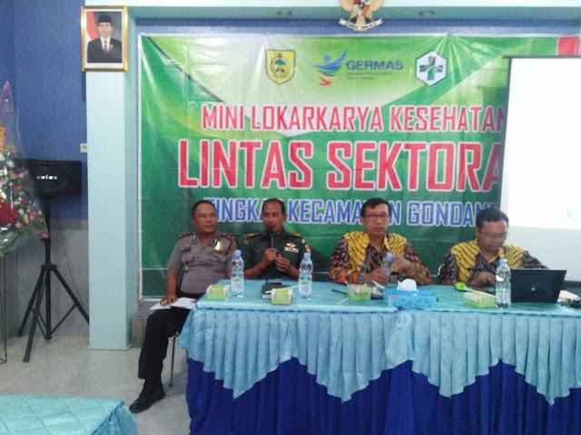Mini Lokakarya Kesehatan Kecamatan Gondang
