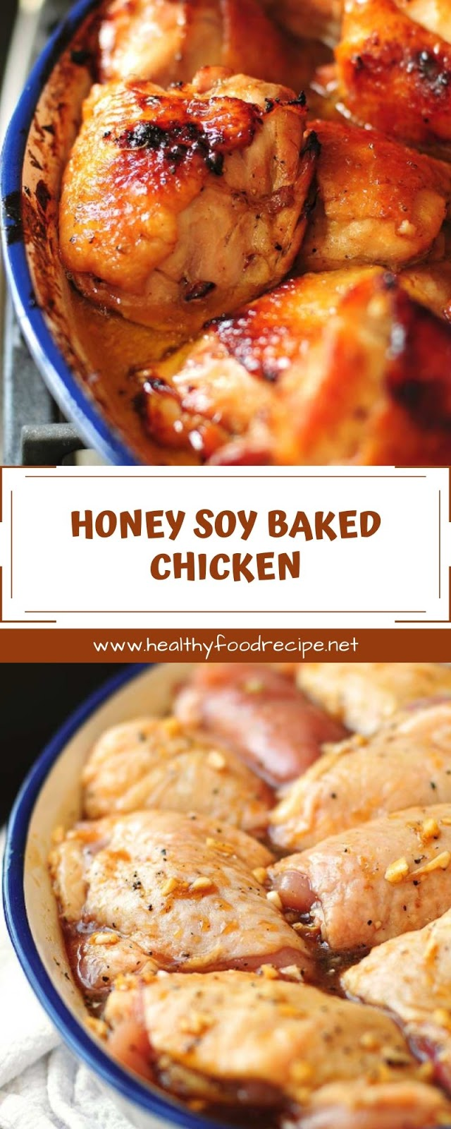 HONEY SOY BAKED CHICKEN
