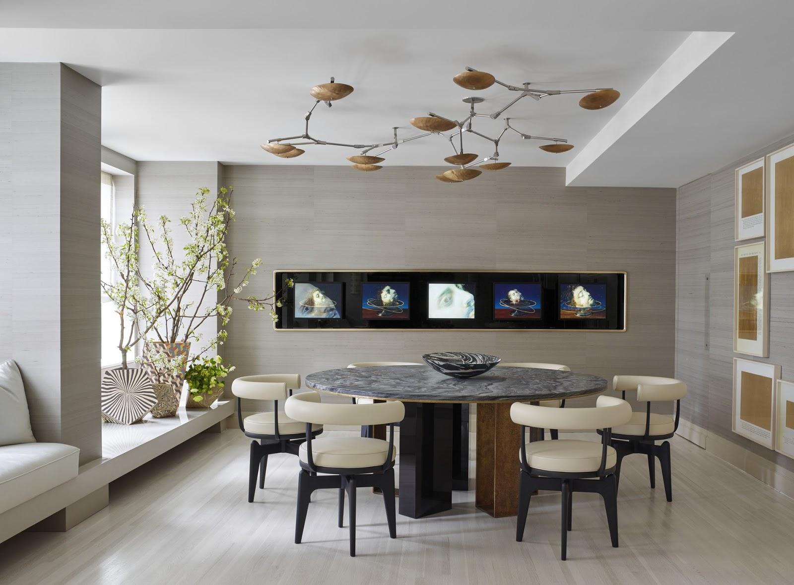 20 Desain Lantai Modern Ruang Makan Minimalis
