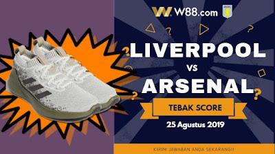 Tebak Skor Liverpool vs Arsenal Dapatkan Shoes Adidas