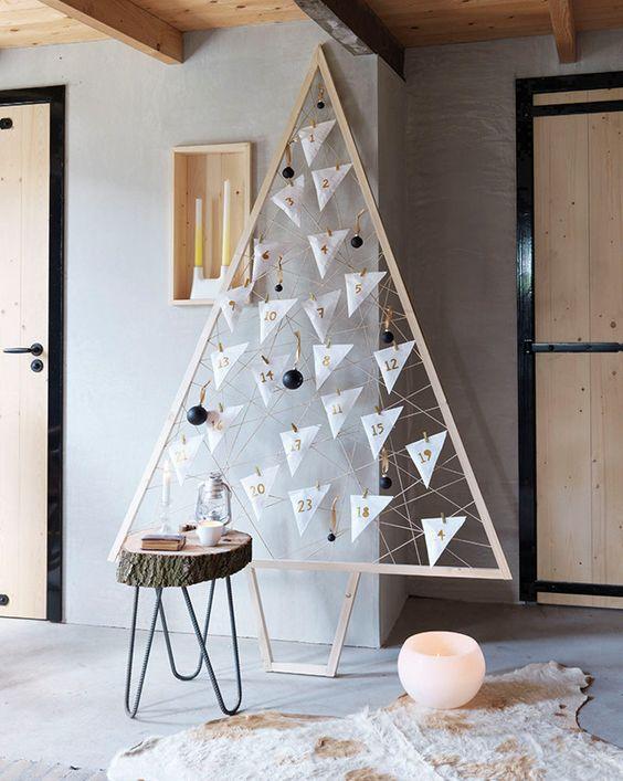 Árbol de Navidad moderno y original