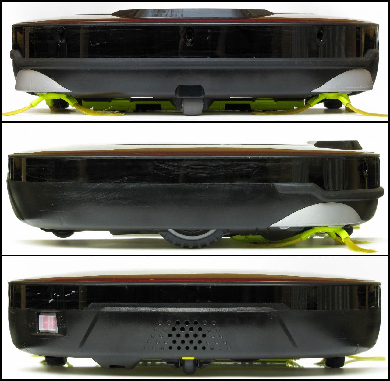 LG Hom-Bot Square 3.0 VR6260LV, vista laterale
