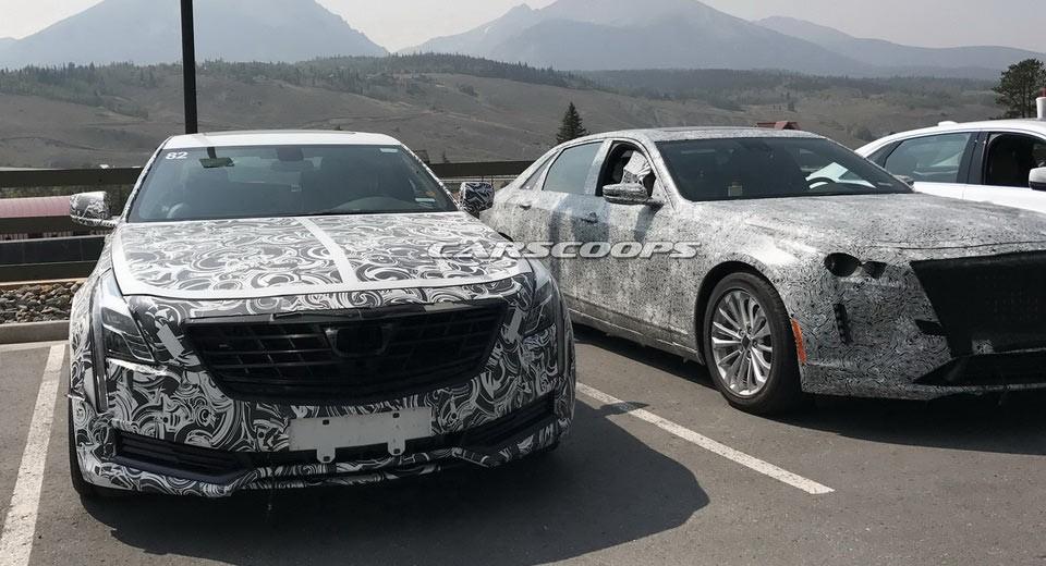 2019 Cadillac Lineup (spy Shot)  Msblog