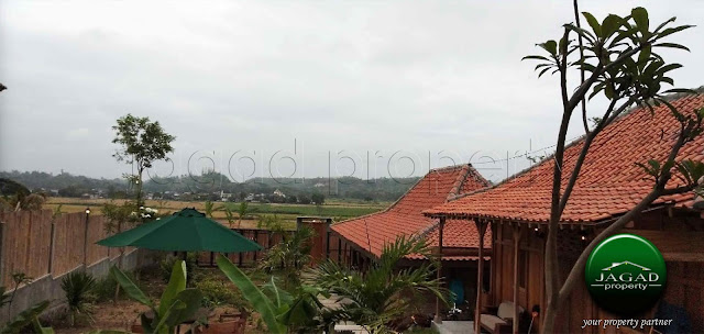 Villa View Sawah di Bangunjiwo, Bantul
