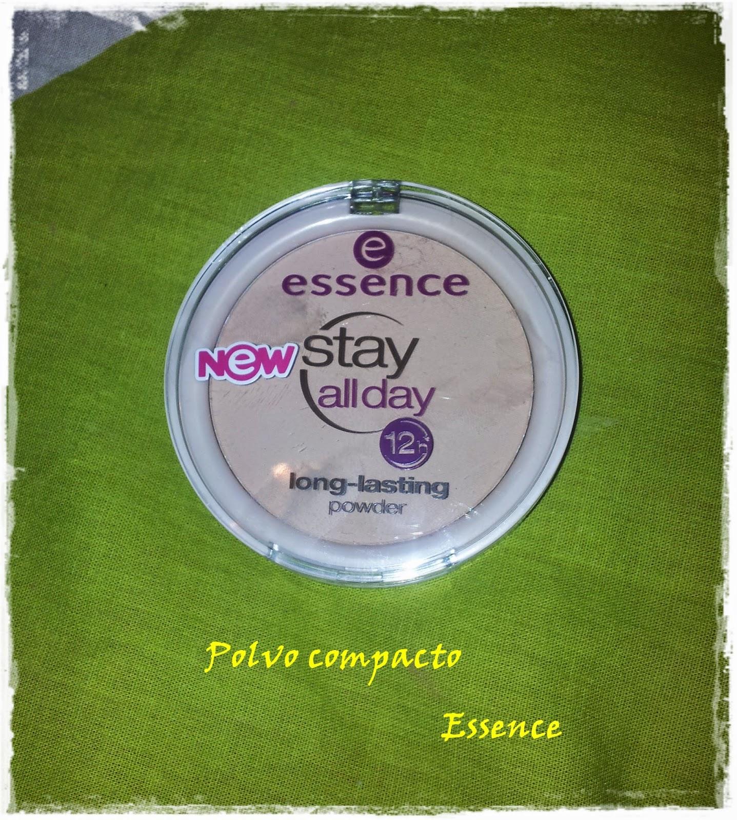 Stay all day long lasting powder de Essence