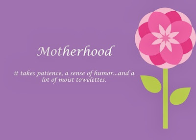 Motherhood images from son