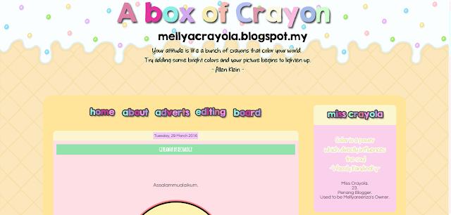 blog mellya crayola