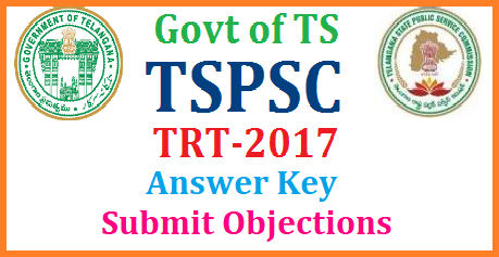 TRT 2017 SGT SA LP PET Answer Key Objections Submission @tspsc.gov.in TSPSC TRT Answer Keys Raise Objections upto March 31st | TSTRT Official answer key for SGT SA LP PET Objections submission process | TRT 2017 SGT SA LP PET Answer Key Objections Submission @tspsc.gov.in | tspsc-trt-2017-sgt-sa-lp-pet-answer-key-objections-submit-upload-tspsc.gov.in-process/2018/03/tspsc-trt-2017-sgt-sa-lp-pet-answer-key-objections-submit-upload-tspsc.gov.in-process.html