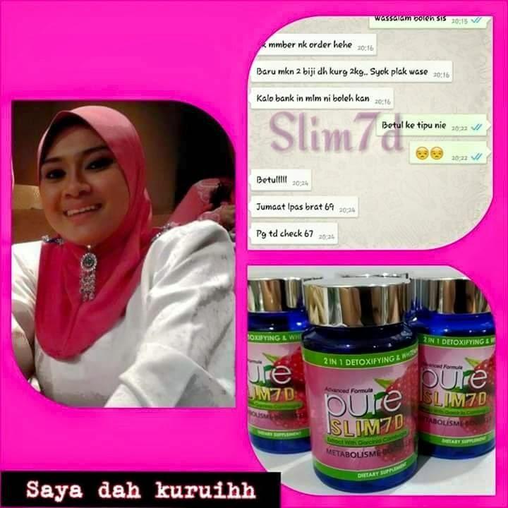 Menjual Produk Kecantikan Dan Kesihatan : PURE SLIM 7D ...