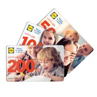 Karta prezentowa Lidl 400 zł za kartę kredytową Citi Simplicity
