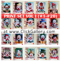 You can support my Clown Portraits Project!