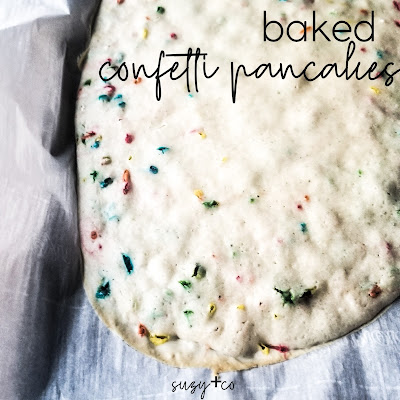 oven-baked confetti pancakes