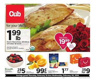 Cub Foods weekly ad 2/14/19 - 2/20/19