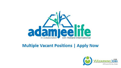 Adamjee Life Insurance Company Limited Jobs In Pakistan May 2021 Latest | Apply Now