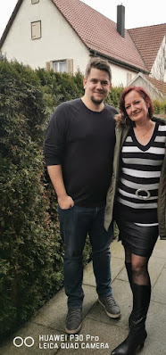 Marcel Sprenger with his sexy mother