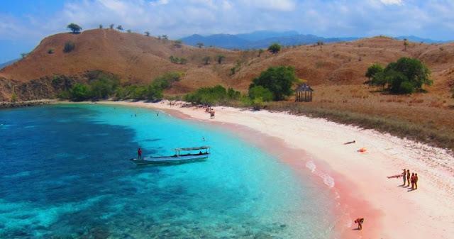 Pink Beach, Pulau Komodo