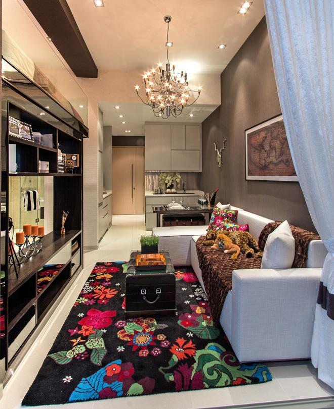 Idea Ini Sangat Sesuai Dengan Flat Apartment Kecil Atau Ruang Tamu Untuk Rumah Teres Yang