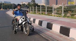 'NeoBolt'--India's First Indigenous Motorized Wheelchair Vehicle