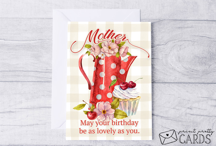 Printable Birthday Cards for Moms