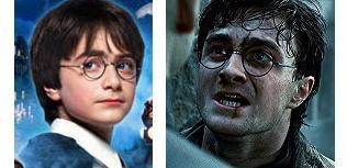 Los cambios físicos de Harry Potter son importantes