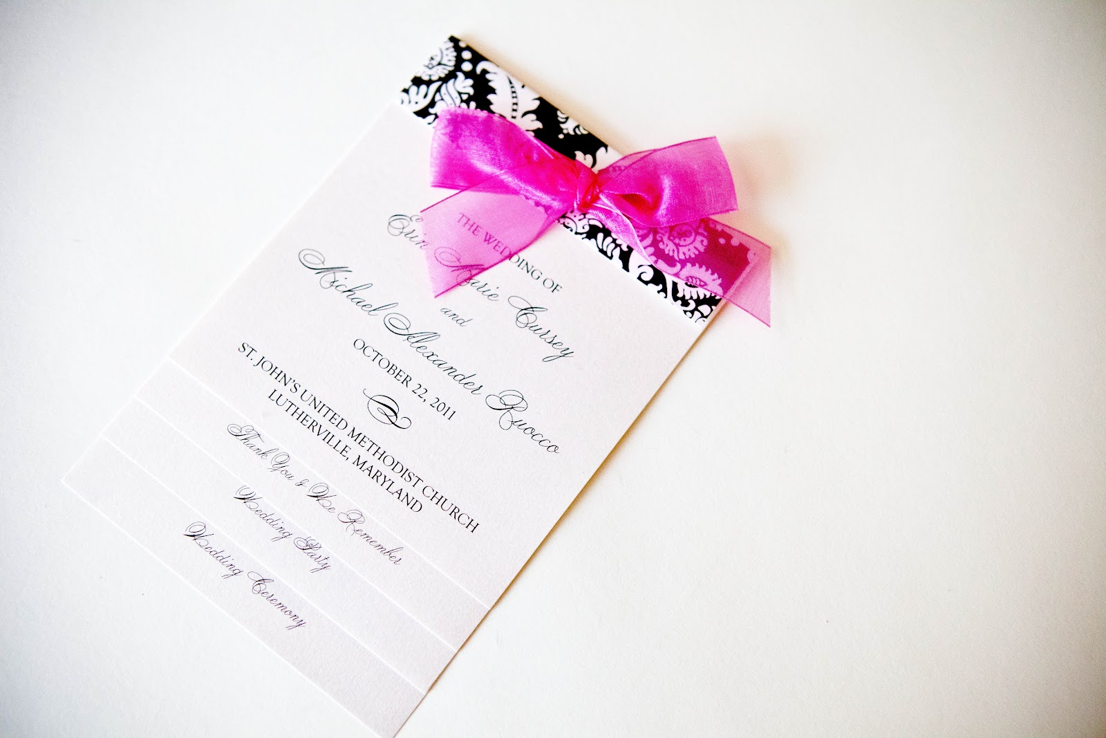 unique wedding programs invitations baltimore kindly rsvp designs