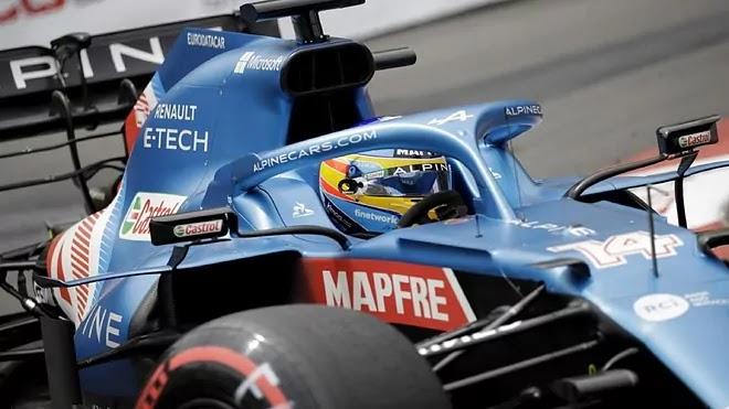 Fernando Alonso Talvez demore 8 ou 9 corridas para estar a 100%