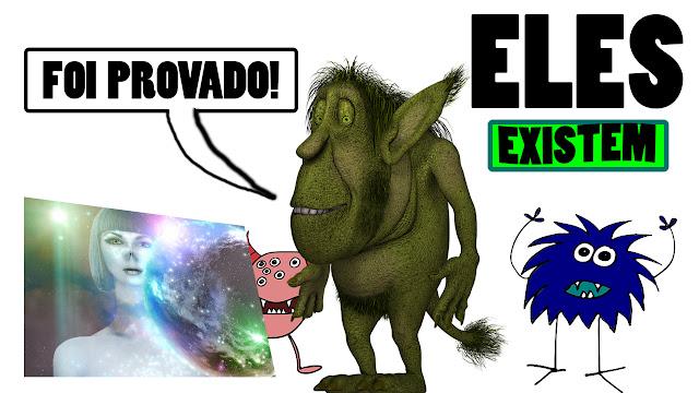 comprovação e provas da existência de alienígenas