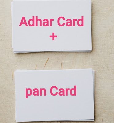 How to link Adhar Card to pan Card