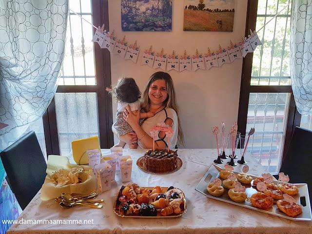 Il primo Compleanno della Baby