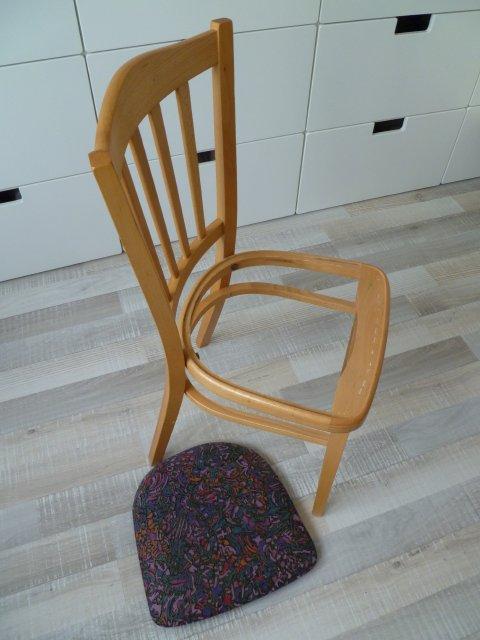 Bekend Marly Design: Stoel bekleden / Draping chairs &RG23