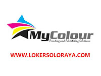 Loker Solo Raya di CV My Colour Sejahtera Advertindo Januari 2021
