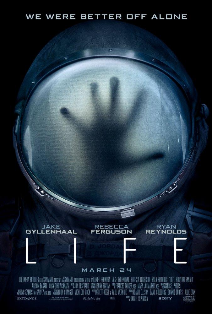 Đánh giá phim: LIFE (2017): cảnh bào cho khoa học vũ trụ