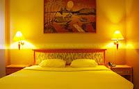 kamar tidur surya asia hotel wonosobo