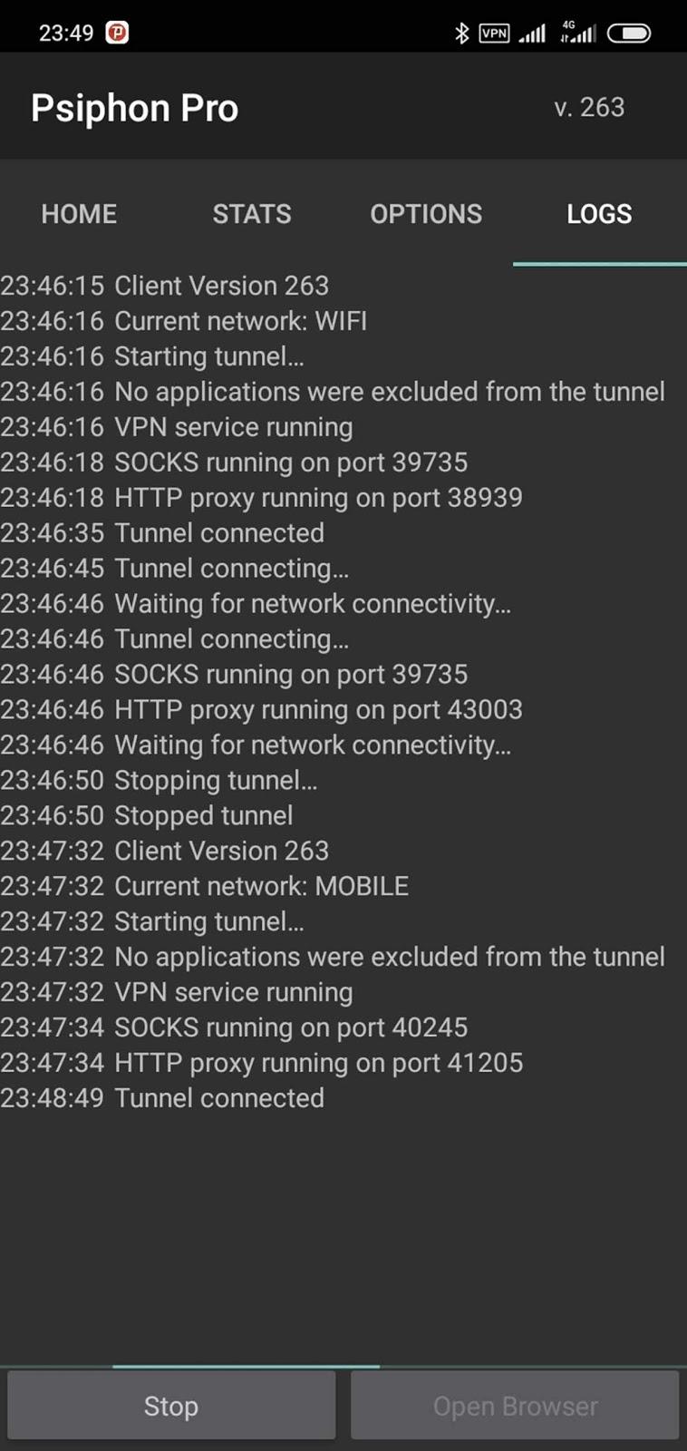 Psiphon 4G Free Internet for Safaricom Kenya