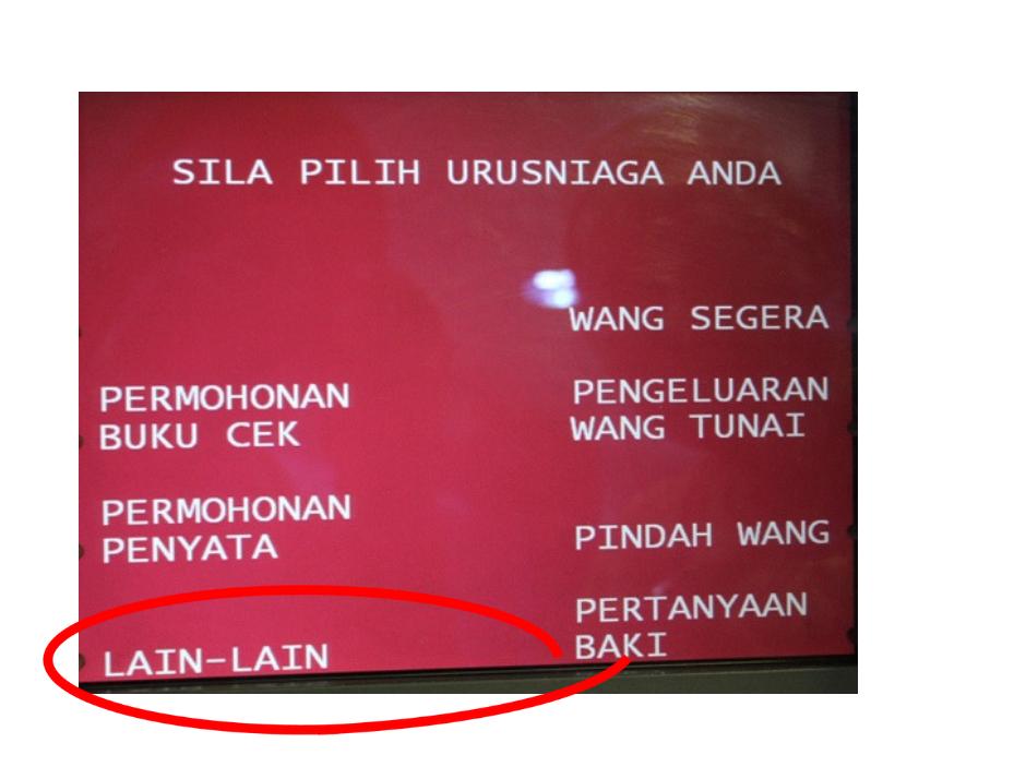 Tukar Nombor Telefon Bank Islam Atm