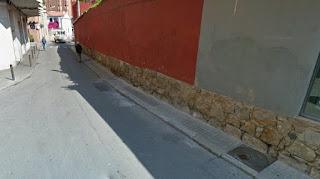 Riera de la Creu. Las tapias fueron unas eficaces murallas