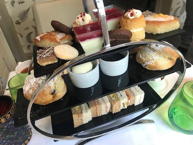 Afternoon Tea, Woughton House, Milton Keynes, Date, Food, Cake Stand