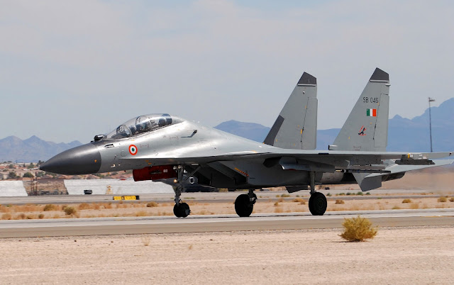 Indian Air Force Sukhoi Su-30MKI Taxiing
