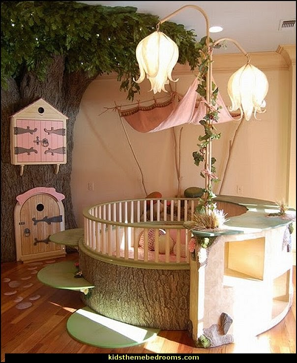 Forest Theme Bedrooms Woodland Bedroom Fairies Decor Fairy Room