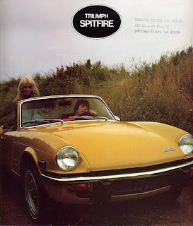 Sunshine Motors Inc, Daytona Beach - Spitfire Mk4 brochure cover