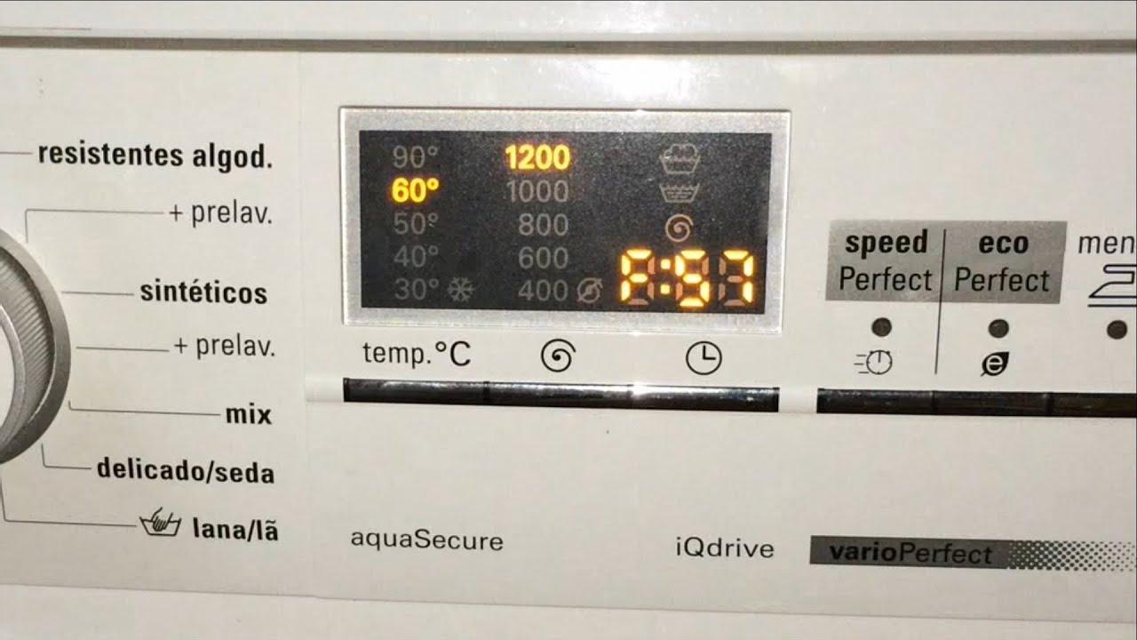 Siemens Waschmaschine Fehlercode E57 - Gelöst