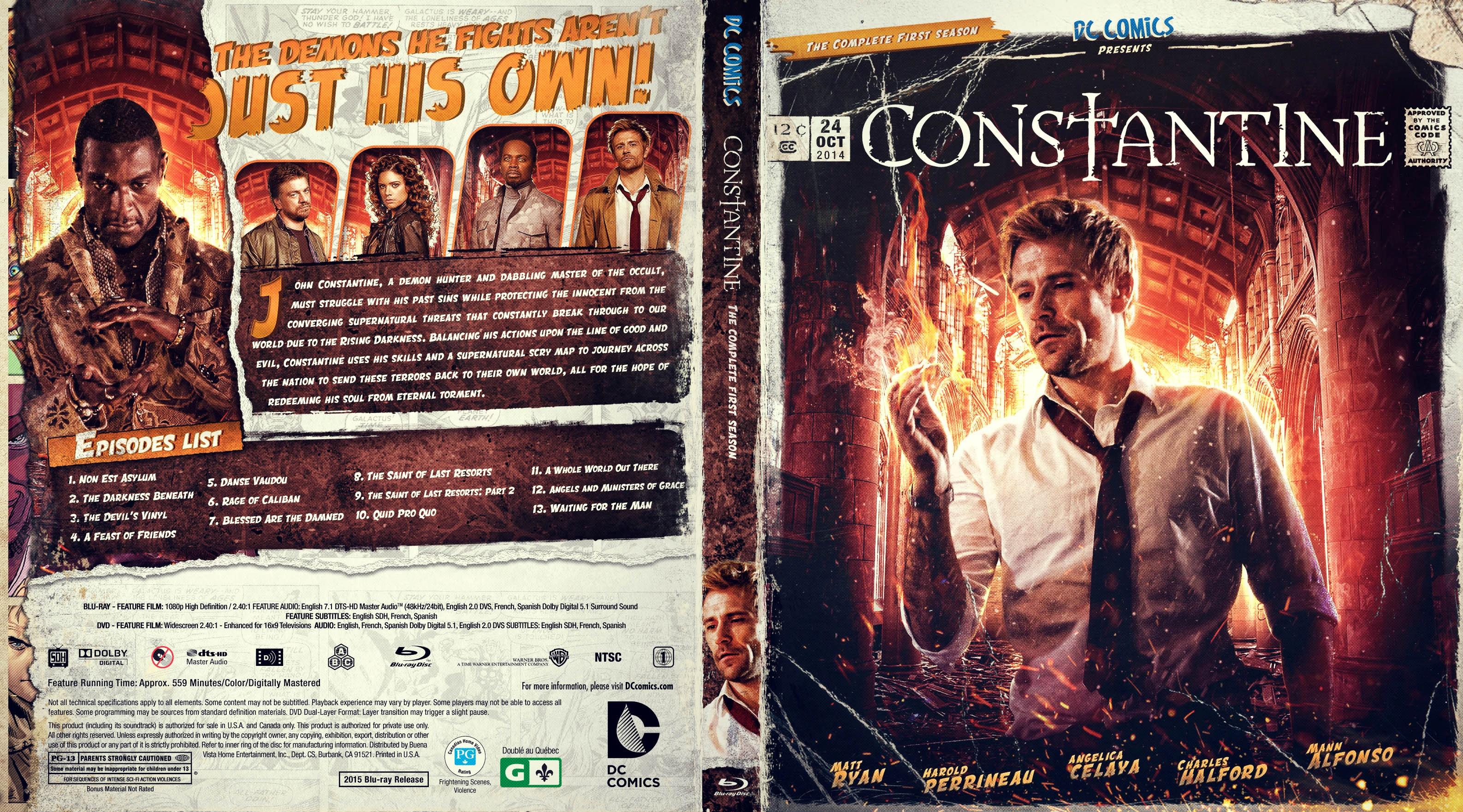 constantine season 1 bluray subtitles