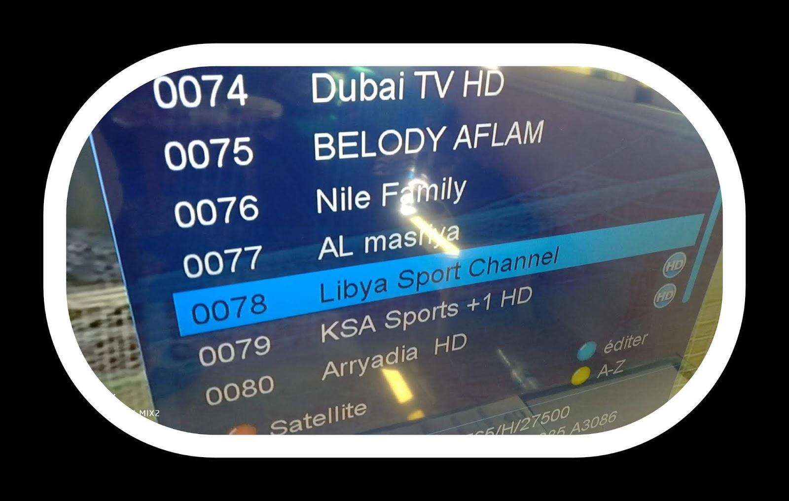 Frequence De Libya Sport Channel Sur Nilesat Pour Regarder