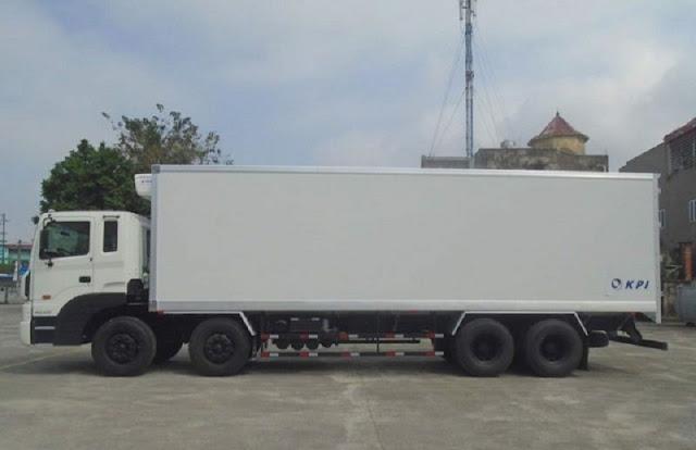 Xe tải Hyundai HD320 19 tấn thùng đông lạnh