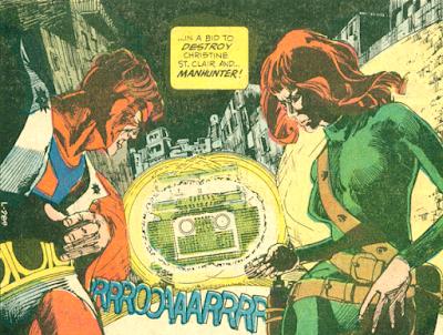 Detective Comics #440, Manhunter and Christine St Clair