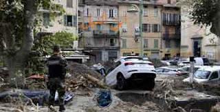 فيضانات تضرب فرنسا وإيطاليا
