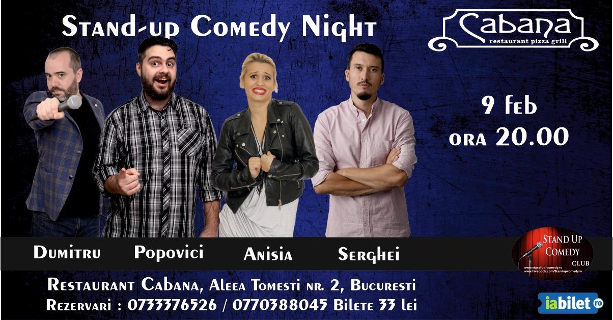 Stand Up Comedy Duminica 9 Februarie Bucuresti