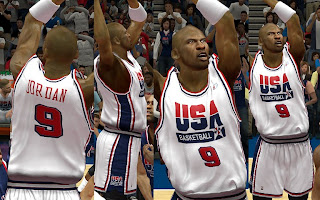 NBA 2K13 Dream Team USA Home Jersey Mod