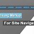 How to Add Schema.org Markup on Site Navigation?